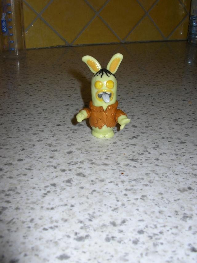 Les lapins cr tins les cr as de boooba for Cuisinier zombie