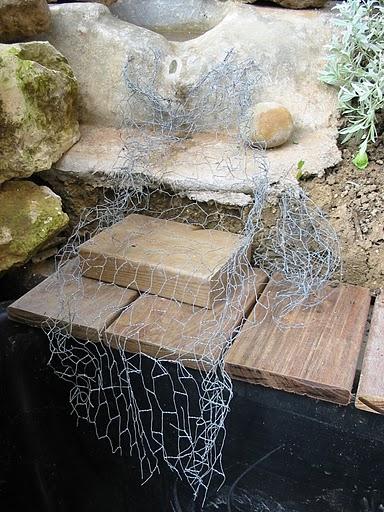 Bassin int gr sur terrasse bois - Acheter de la paille pour jardin ...