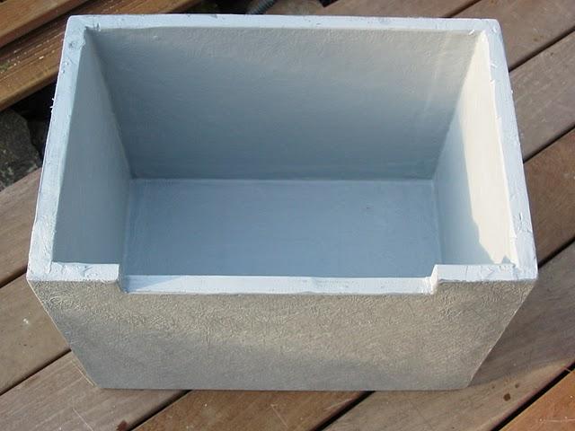 Bassin int gr sur terrasse bois - Comment fabriquer une lame d eau pour bassin ...