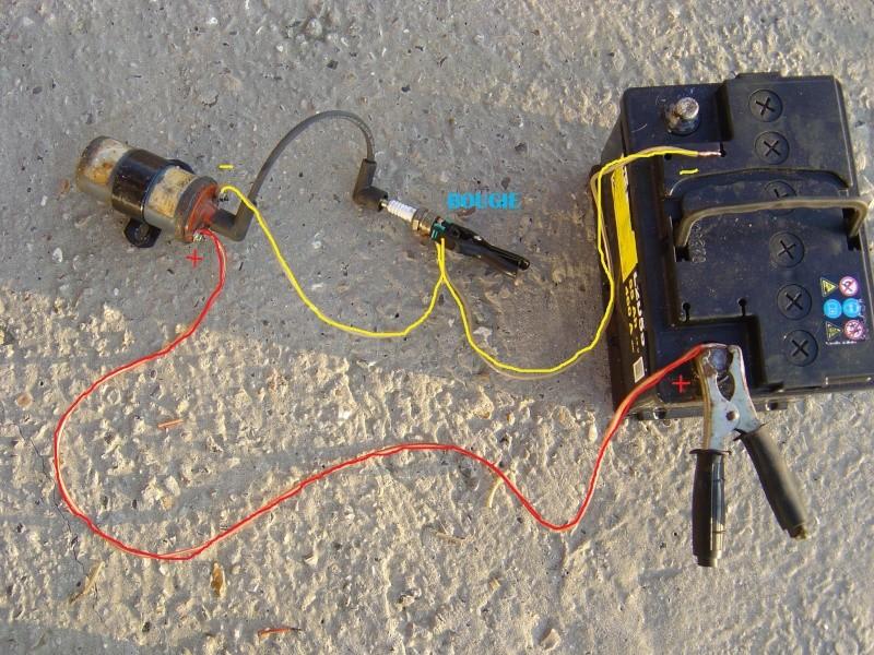 Comment controler une bobine d'allumage moto