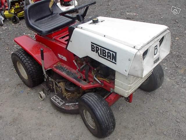 tracteur tondeuse briban 11cv. Black Bedroom Furniture Sets. Home Design Ideas