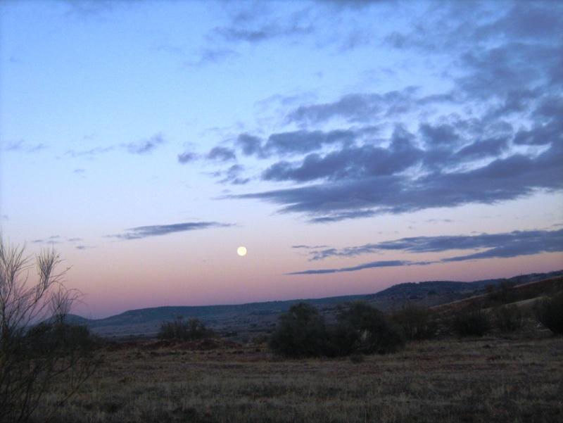 Aube dans la Mancha dans photos voyage11
