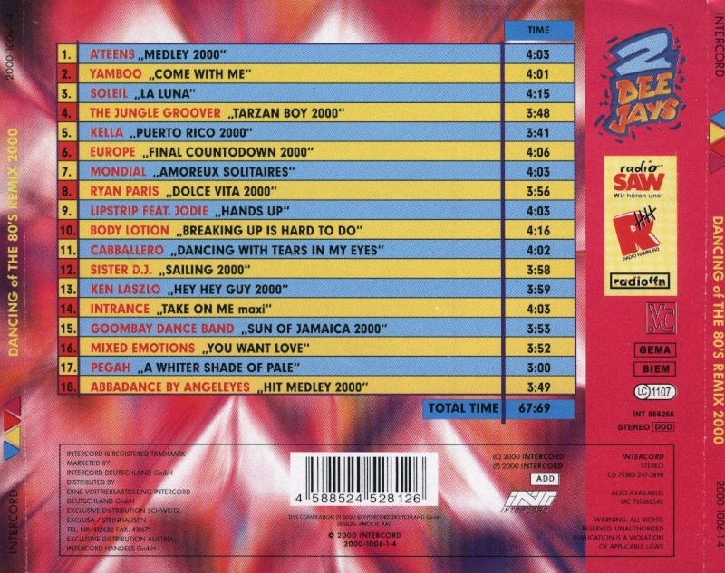 Viva Dancing of the 80's Remix 2000