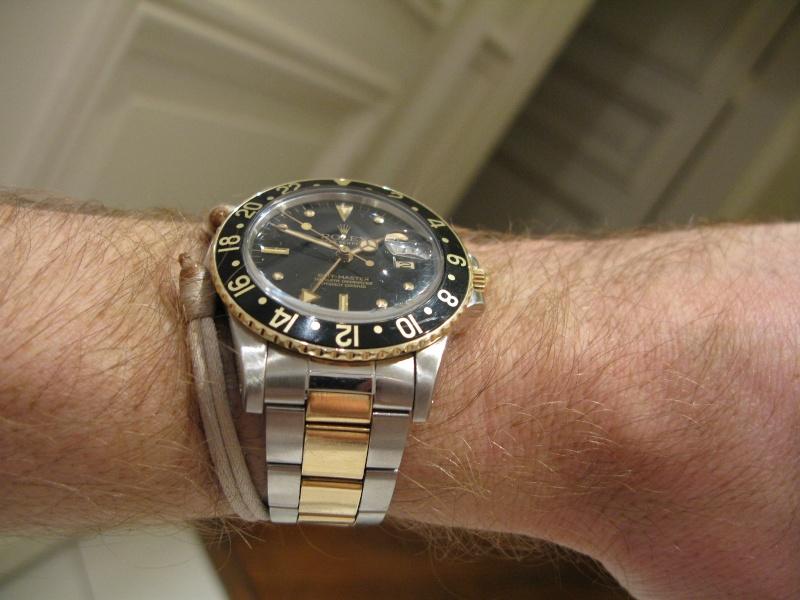 Rolex Gmt Or Acier