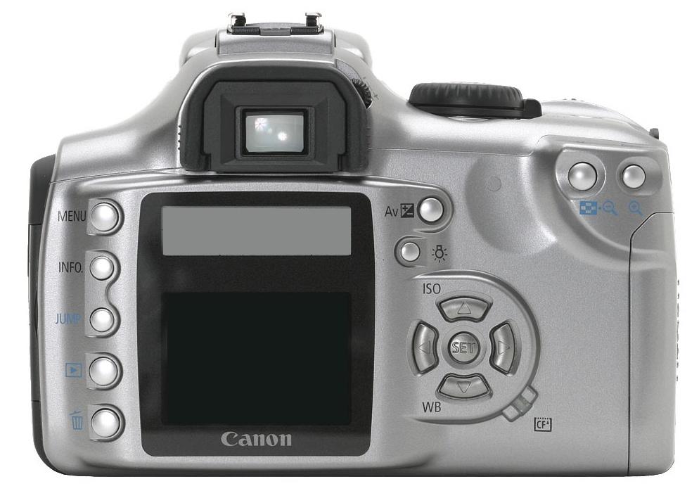 Canon EOS 300D de dos