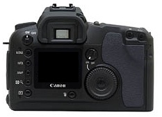 le Canon EOS D30 de dos