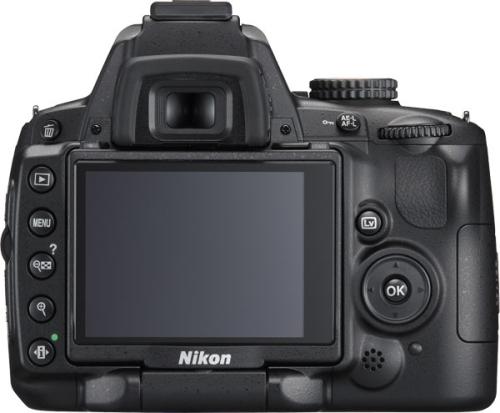 le Nikon D5000 de dos