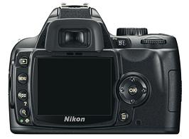 le Nikon D60 de dos
