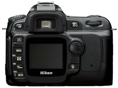 le Nikon D50 de dos