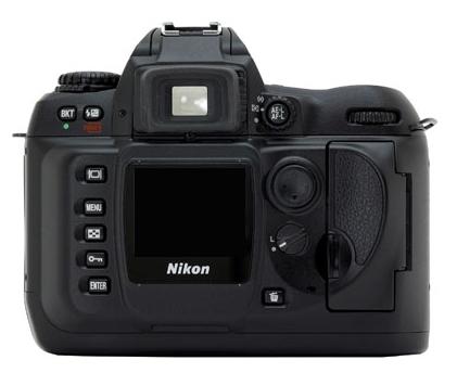 le Nikon D100 de dos