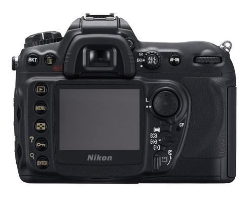 le Nikon D200 de dos