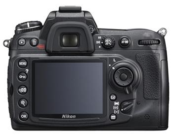 le Nikon D300s de dos