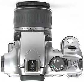 Canon EOS 300D de haut