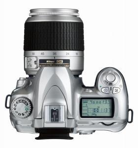 le Nikon D50 de haut