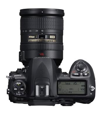 le Nikon D200 de haut