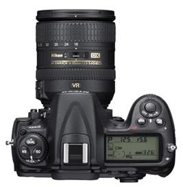 le Nikon D300s de haut