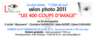 Les 400 Coups d'Images 2011