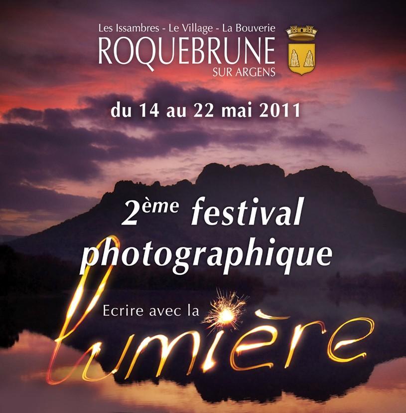 2ème Festival photographique Écrire avec la lumière de Roquebrune sur Argens