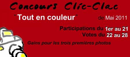 Concours Clic-Clac de Mai 2011, Tout en couleur
