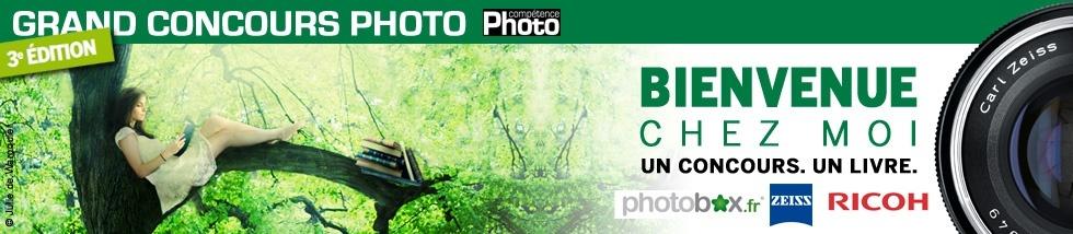Un concours un livre, bienvenue chez moi concours photo du magazine Compétence Photo