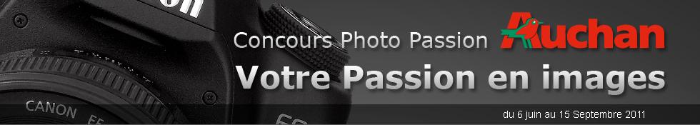 Votre Passion en image concours photo Auchan