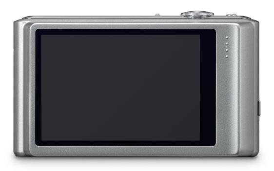 le Panasonic Lumix DMC-FS37 argent de dos