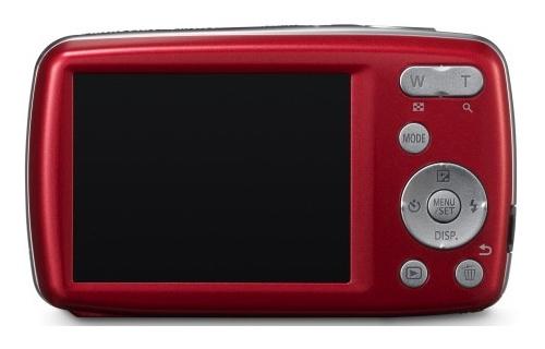 le Panasonic Lumix DMC-S3 rouge de dos