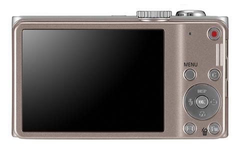 le Samsung WB700 beige de dos