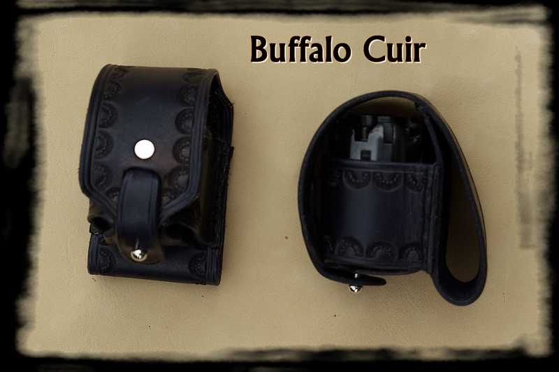 porte barillet de ceinture buffalo cuir. Black Bedroom Furniture Sets. Home Design Ideas