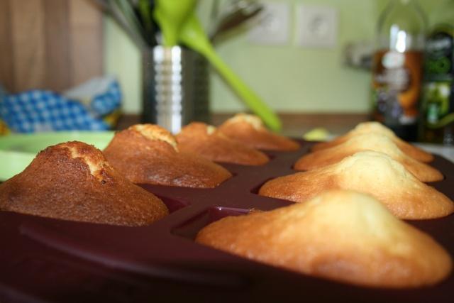 Madeleines et Muffins au citron