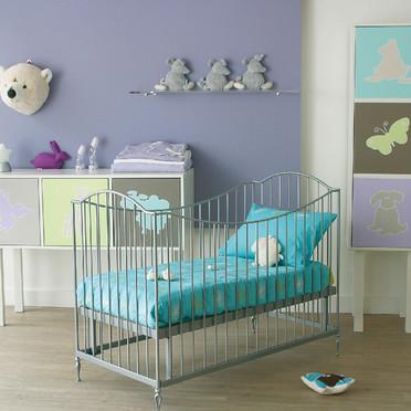 Le classique peinture pour chambre de b b fille for Deco ourson chambre bebe