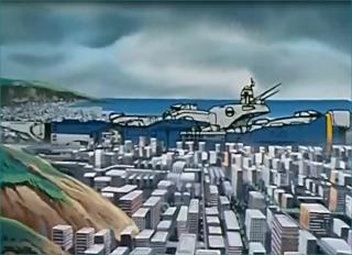 Macross City, l'histoire de la ville