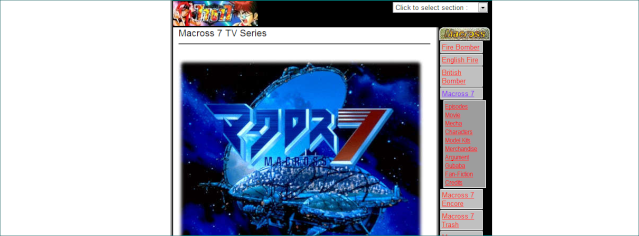 Les Fans Sites Macross