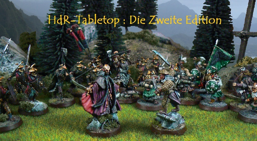 Der Herr der Ringe Tabletop ~ Die zweite Edition