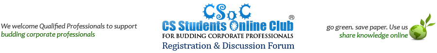 CSoC Discussion Forum