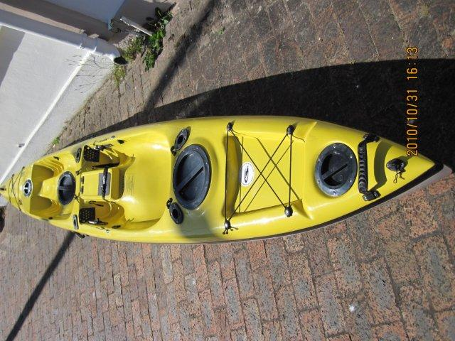 Duo fishing Kayak (Stealth) vgood condition R6500