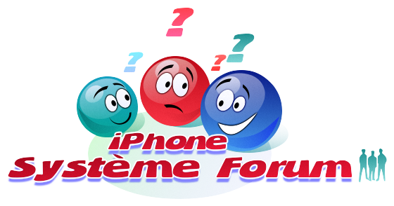 iPhoneSystème forum