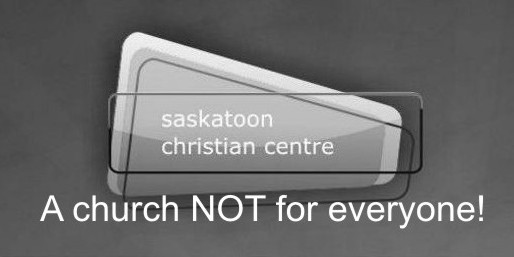 SCC - A Church Not For Everyone!