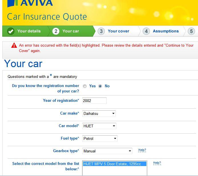 Car Insurance Policy Aviva Car Insurance My Policy