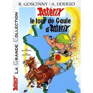 Astérix, Tome 5 : Le tour de gaule d'astérix dans BD astari10