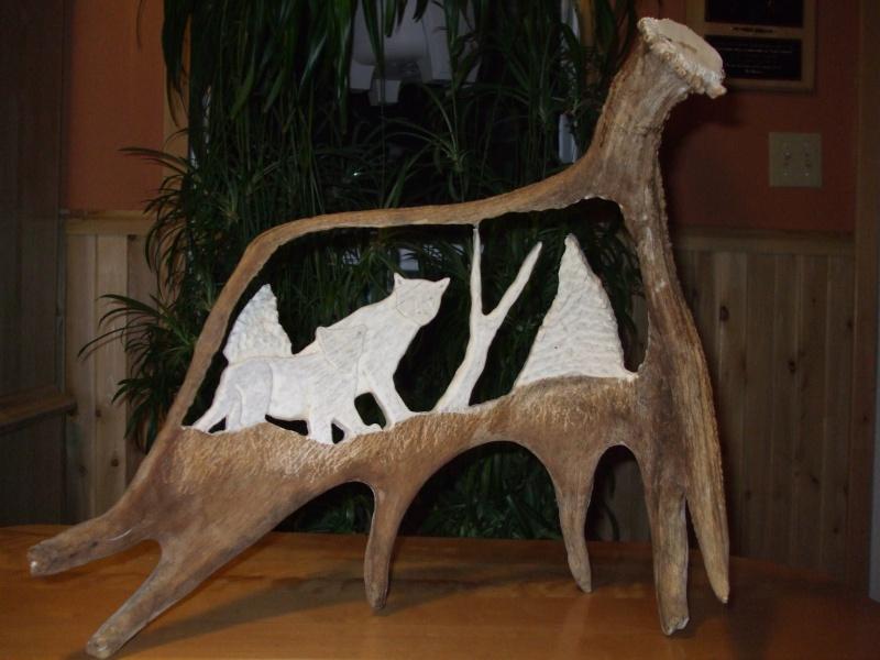 Panache d 39 orignal sculpter a voir - Sculpture sur bois debutant ...