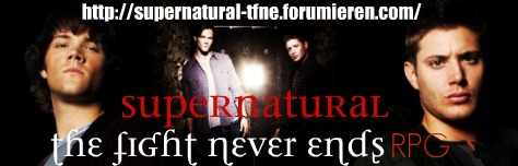 Supernatural The Fight Never Ends