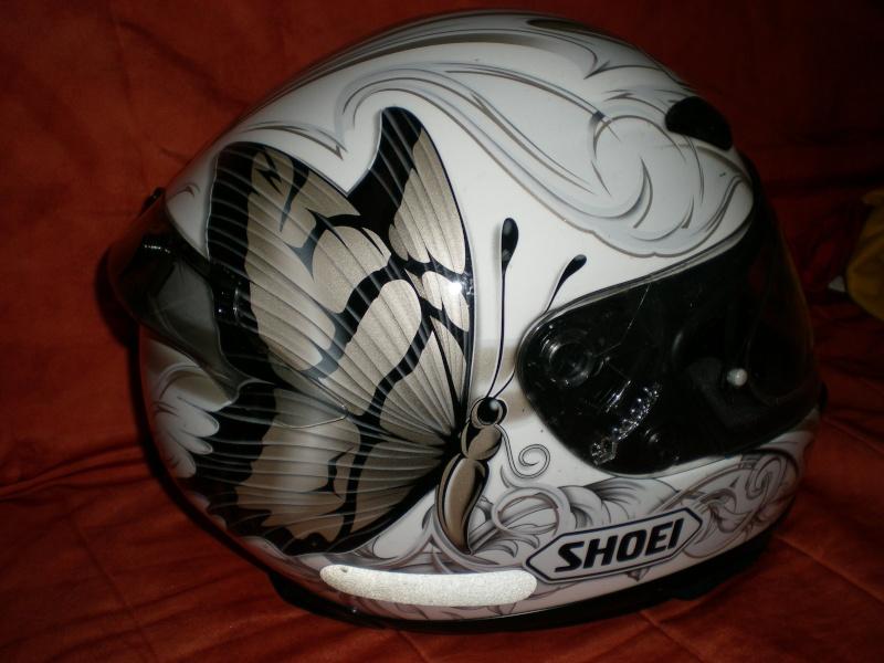 Casque Moto Femme Shoei Papillon Passion Moto Et Voyage