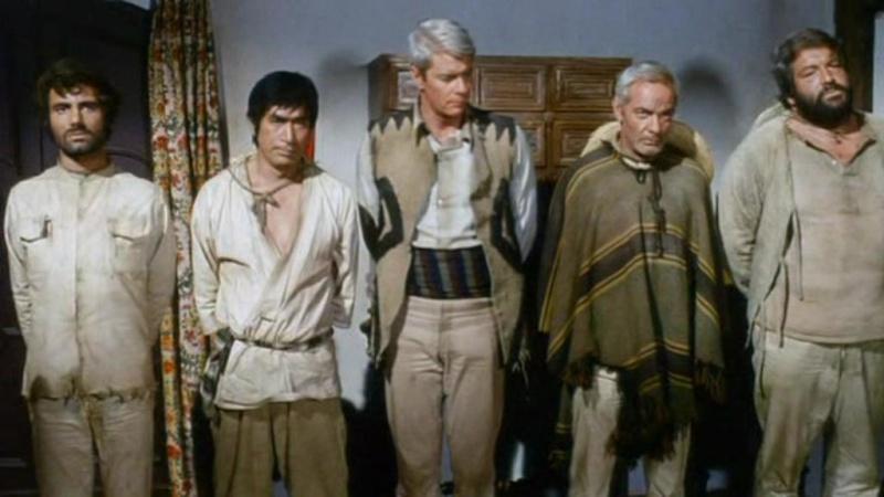 5 hommes armes un esercito di cinque uomini 1969 don taylor. Black Bedroom Furniture Sets. Home Design Ideas