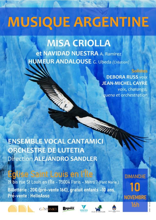 Affiche concert Lutetia 10 novembre 2019