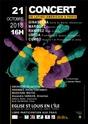 Affiche concert Un latino-américain à Paris, octobre 2018