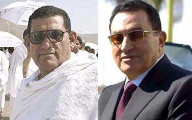 فيديو.. شبيه مبارك يظهر التلفزيون